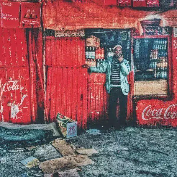 Streets of Addis By Girma Berta